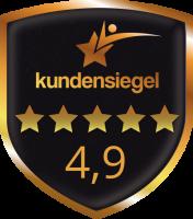 Kundensiegel für B+G E-Tech GmbH